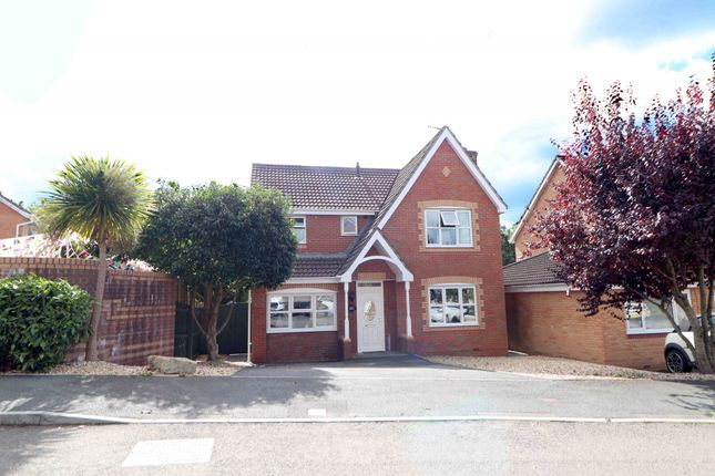 Thumbnail Detached house for sale in Cae Castell, Swansea