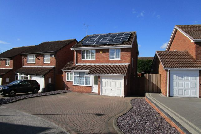 Thumbnail Detached house to rent in Deerham Close, Birmingham, West Midlands