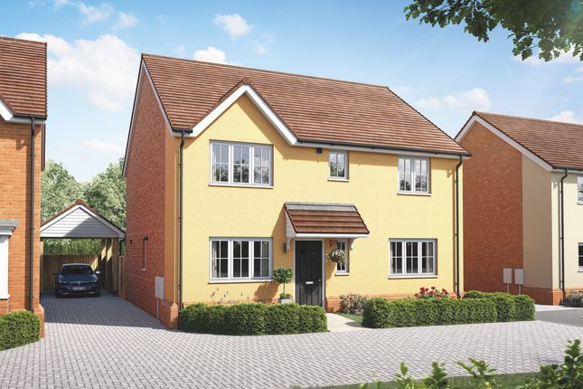 "Thumbnail Property for sale in ""The Dorking"" at Wetherden Road, Elmswell, Bury St. Edmunds"