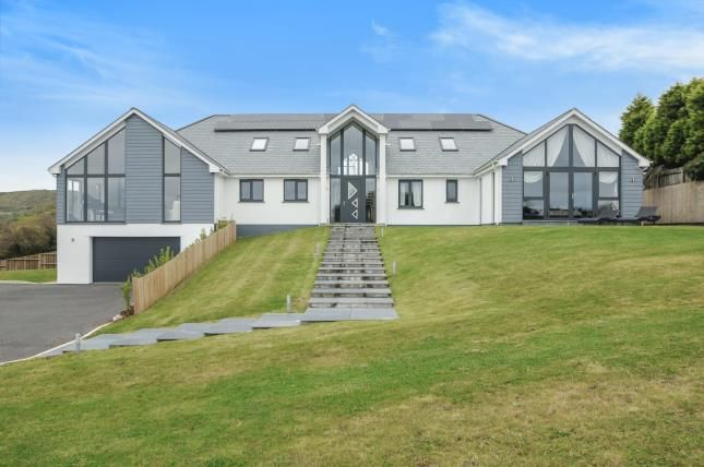 Thumbnail Detached house for sale in St. Austell, Cornwall