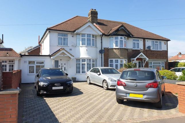 Thumbnail Semi-detached house for sale in Springwell Road, Hounslow