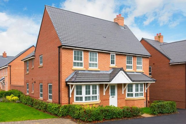"Thumbnail Detached house for sale in ""Alnwick"" at Beggars Lane, Leicester Forest East, Leicester"