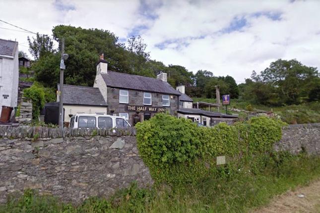 Thumbnail Pub/bar for sale in Freehold, Offers Now Invited, Talysarn, Nr. Caernarfon, Gwynedd North Wales