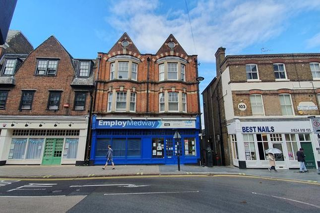 Thumbnail Retail premises to let in 99 -101, High Street, Chatham, Kent
