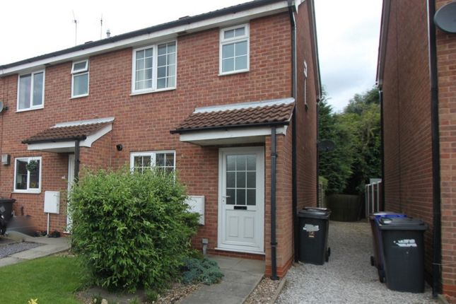 Thumbnail Semi-detached house to rent in Windsor Ct, Sandiacre