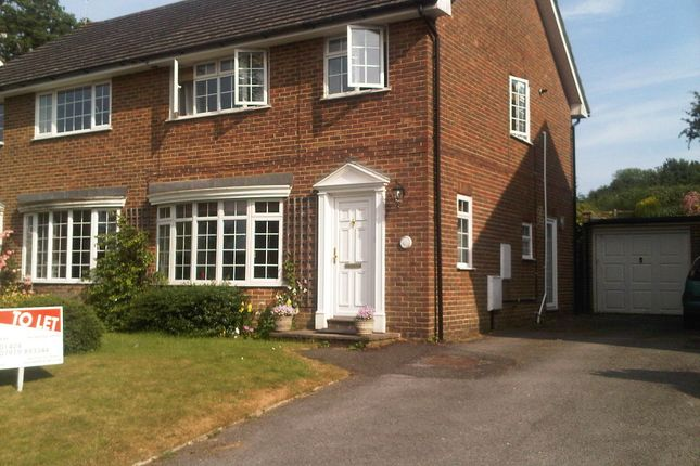 Thumbnail Semi-detached house to rent in Kingsdale Close, Battle