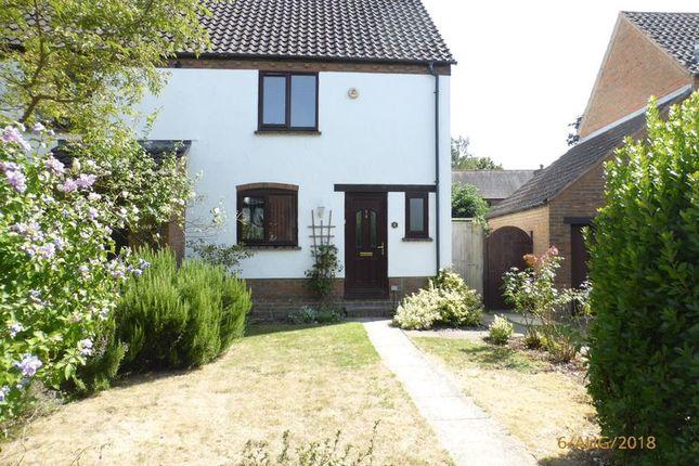 Thumbnail Semi-detached house to rent in Furlong Lane, Bishops Cleeve, Cheltenham