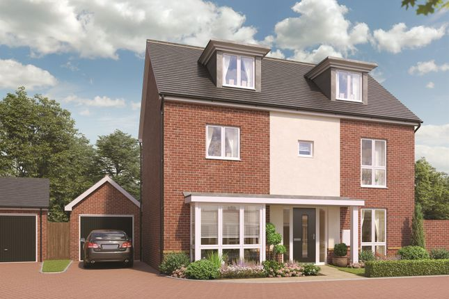5 bedroom detached house for sale in Broadmere Road, Beggarwood, Basingstoke