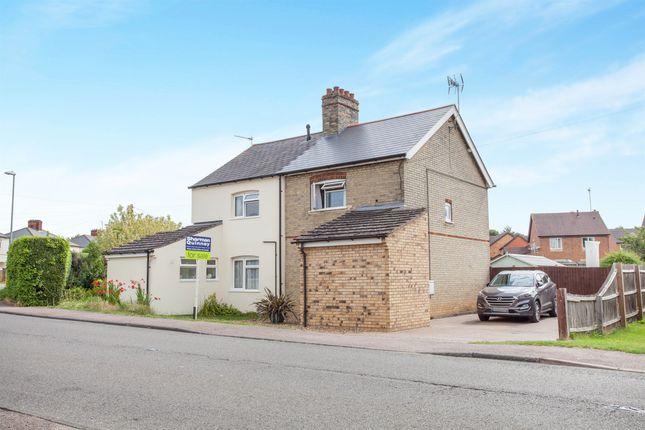 Thumbnail Semi-detached house for sale in Balsham Road, Linton, Cambridge