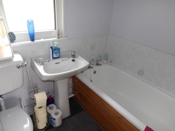 Bathroom of Glan Gwna Holiday Park, Caeathro, Caernarfon, Gwynedd LL55