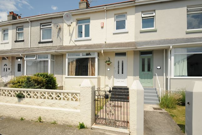 Thumbnail Terraced house for sale in North Down Road, Beacon Park, Plymouth, Devon