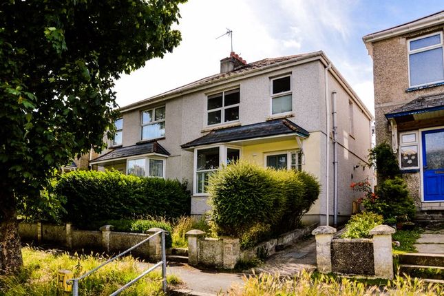 Thumbnail Semi-detached house to rent in Ennors Road, Newquay
