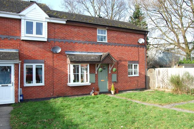 Thumbnail Terraced house to rent in Plover Close, Alcester