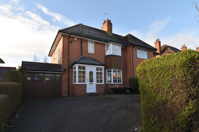Thumbnail Semi-detached house for sale in St Laurence Road, Bournville Village Trust, Northfield