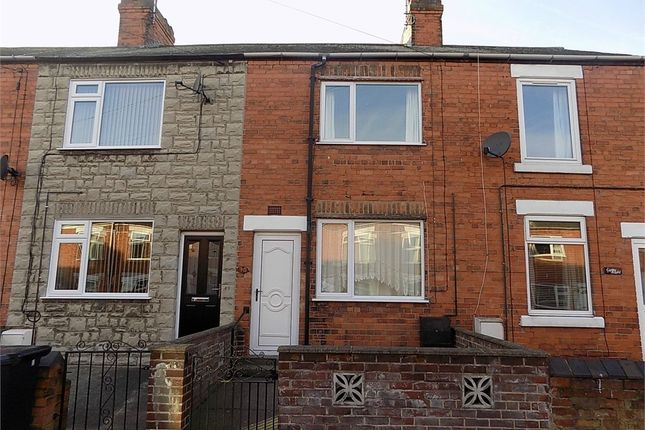 Thumbnail Terraced house to rent in Welbeck Street, Creswell, Worksop, Nottinghamshire