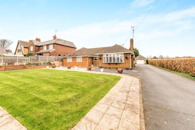 Thumbnail Bungalow for sale in Station Road, Clipstone Village, Mansfield, Nottinghamshire