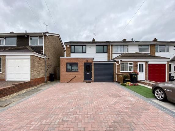 Thumbnail End terrace house for sale in Langley Hall Road, Solihull, West Midlands