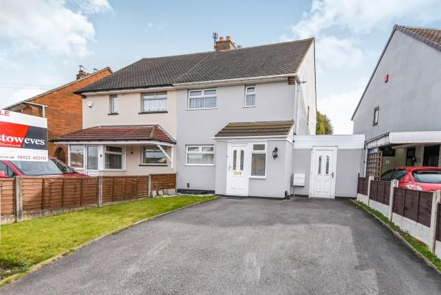 Thumbnail Semi-detached house for sale in Lister Road, Beechdale, Walsall, West Midlands
