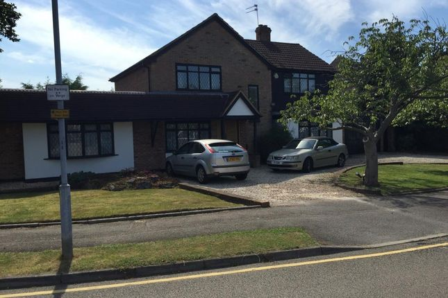 Thumbnail Detached house for sale in Park Crescent, Elstree, Borehamwood