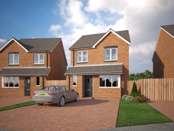 Thumbnail Detached house for sale in Holmleigh Close, Cheshire Lane, Buckley, Clwyd