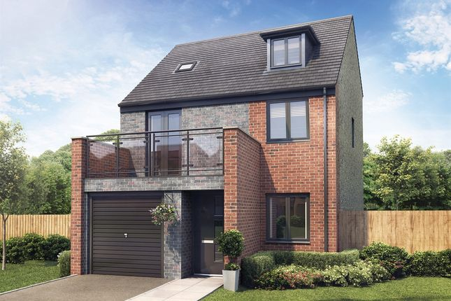 "Thumbnail Detached house for sale in ""The Lincoln"" at Whinney Hill, Durham"