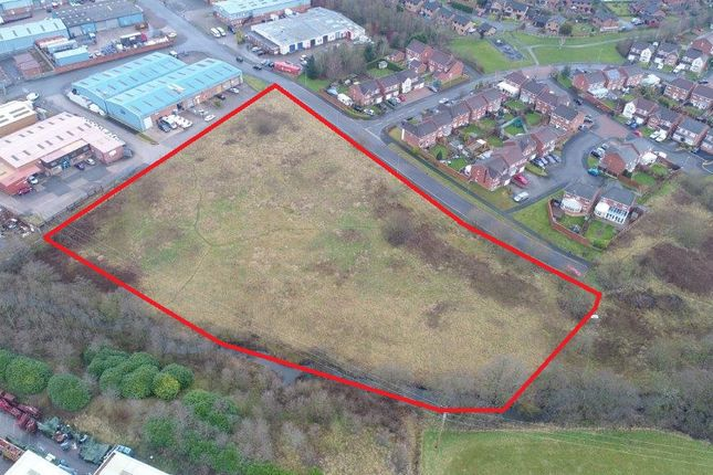 Thumbnail Land for sale in Industrial Land Off Brookhouse Way, Brookhouse Industrial Estate, Cheadle, Staffordshire