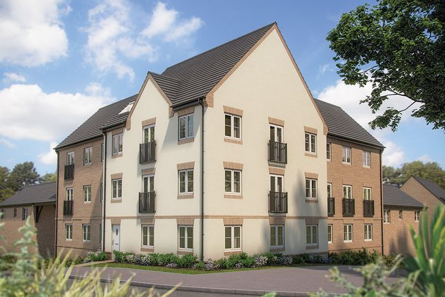 "Thumbnail Flat for sale in ""Wendelburie House"" at Irthlingborough Road, Wellingborough"