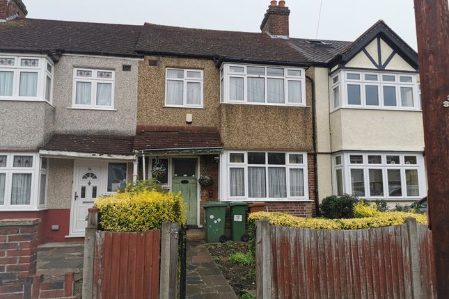 Thumbnail Terraced house for sale in Matlock Crescent, Cheam