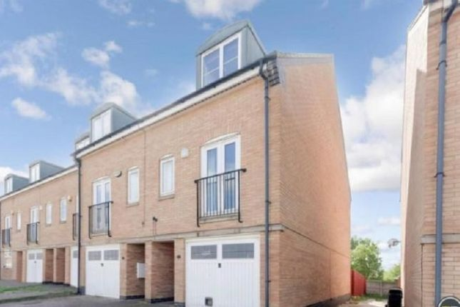 Thumbnail Town house to rent in Beaumont Way, Hampton Hargate, Peterborough, Cambridgeshire.