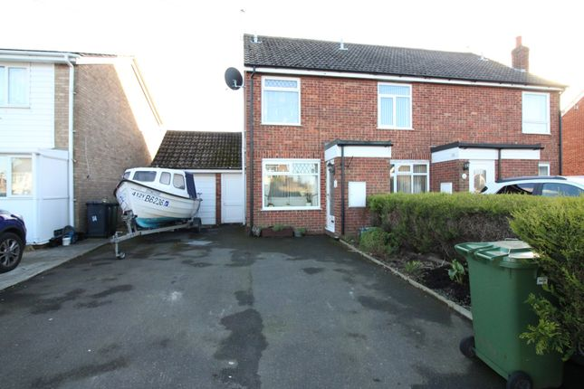 Thumbnail Semi-detached house for sale in Marlborough Green Crescent, Martham, Great Yarmouth