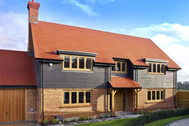 Thumbnail Detached house for sale in Holly Bush View, Gibbs Brook Lane, Oxted, Surrey