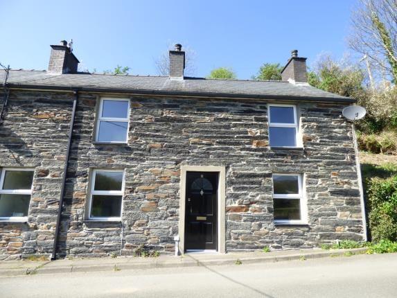 Thumbnail End terrace house for sale in Glanllyn, Penrhyndeudraeth, Gwynedd