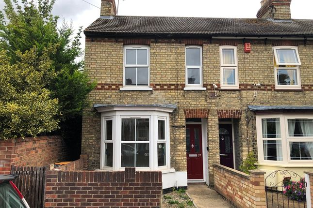 Thumbnail End terrace house for sale in Gratton Road, Bedford