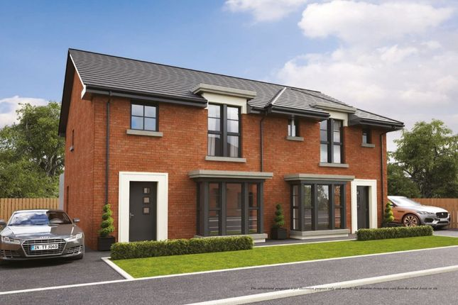 Thumbnail Semi-detached house for sale in Highgrove, Tudor Road, Carrickfergus