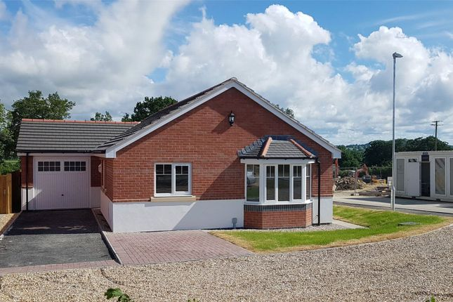 Thumbnail Bungalow for sale in Plot 3, Badgers Fields, Arddleen, Llanymynech, Powys
