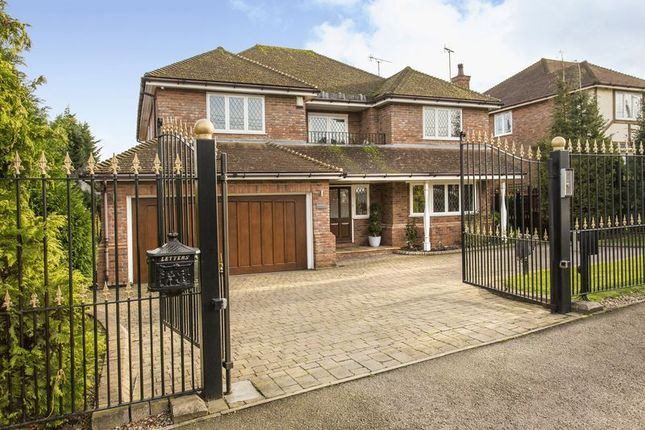 Thumbnail Detached house for sale in Burton Lane, Goffs Oak, Waltham Cross