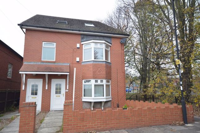 3 bed flat for sale in Addycombe Terrace, Heaton, Newcastle Upon Tyne NE6
