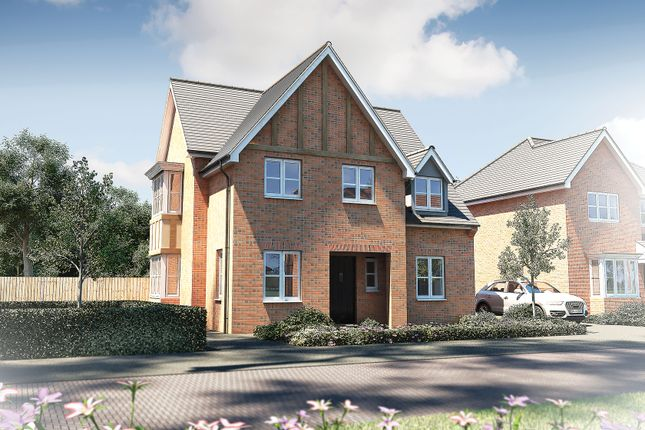 "Thumbnail Detached house for sale in ""The Malham"" at Pershore Road, Evesham"