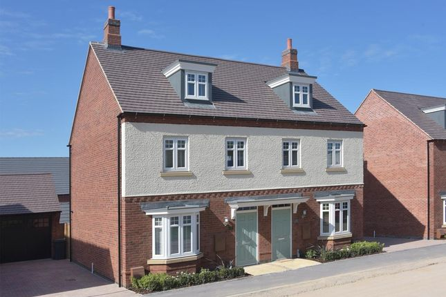 """Thumbnail End terrace house for sale in """"Kennett"""" at Mount Street, Barrowby Road, Grantham"""