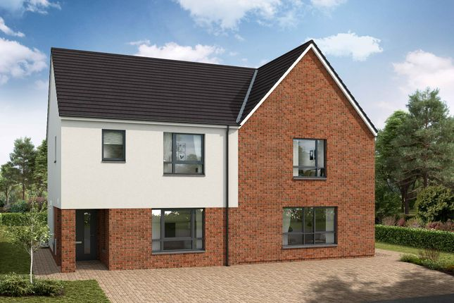 Thumbnail Semi-detached house for sale in Stewart Gardens, Malletsheugh Road, Newton Mearns