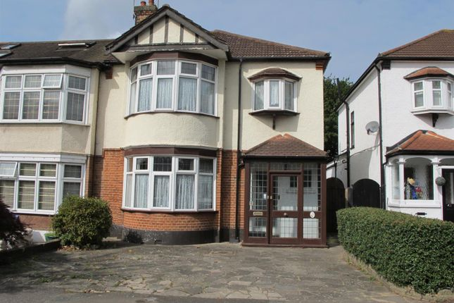 Thumbnail End terrace house for sale in Bushey Avenue, London