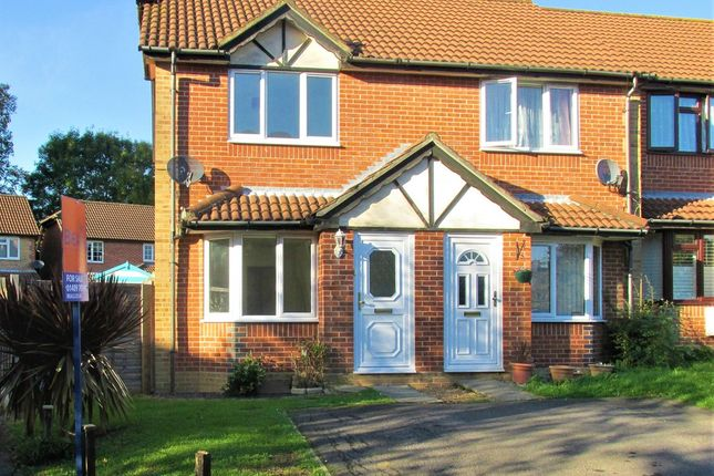 Thumbnail End terrace house for sale in The Foxgloves, Hedge End, Southampton