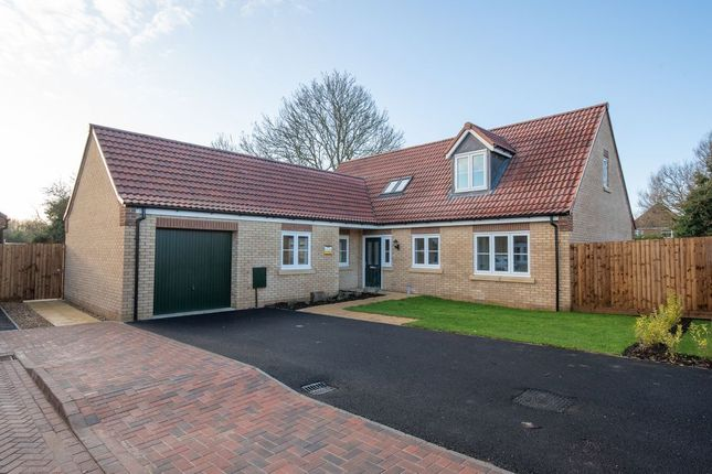 Thumbnail Detached bungalow for sale in Wardentree Lane, Pinchbeck, Spalding