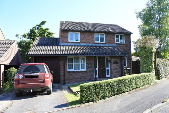 Thumbnail Detached house for sale in The Oaks, Common Mead Lane, Gillingham