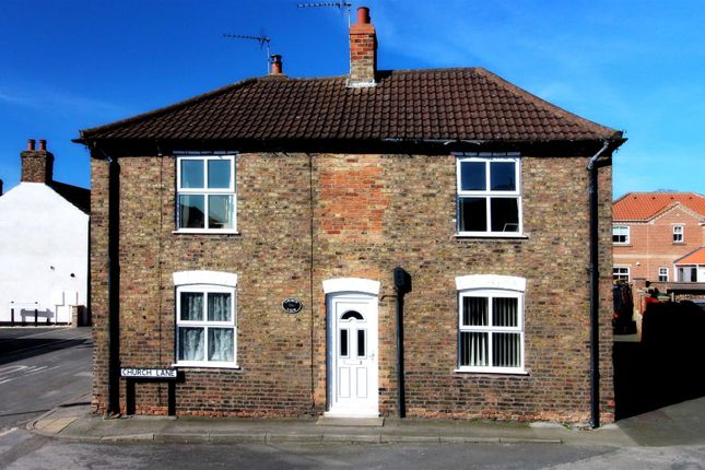 Thumbnail Cottage for sale in Church Lane, Brandesburton, Driffield