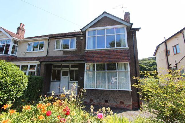 Thumbnail Semi-detached house for sale in Llannerch Road West, Rhos On Sea, Colwyn Bay