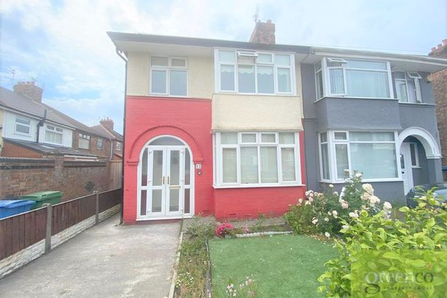 Thumbnail Semi-detached house to rent in Halby Road, Walton, Liverpool
