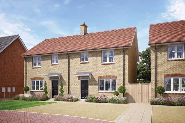 Thumbnail Detached house for sale in The Trent, Whitworth Way, Wilstead, Bedford