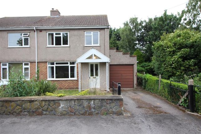 Thumbnail Semi-detached house for sale in Station Road, Winterbourne Down, Bristol