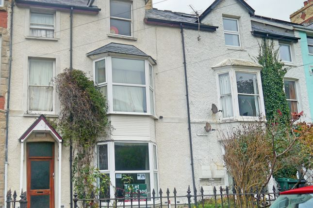 Thumbnail Town house to rent in Cliff Terrace, Aberystwyth